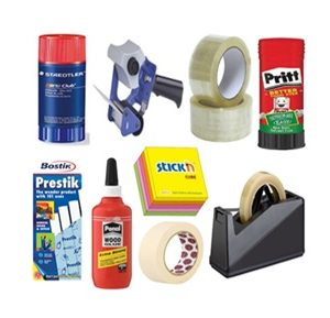 ADHESIVE GLUE & TAPES