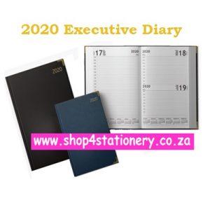2020 A4 Executive Diary