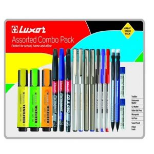 Luxor Assorted Combo Pack (17-Piece)